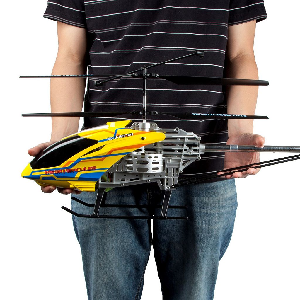 World Tech Toys Mega Hercules Unbreakable 3.5ch RC Helicopter