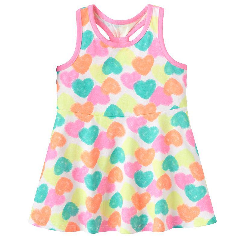 Jumping Beans® Print Skater Dress - Baby Girl