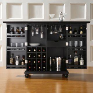 Crosley Furniture Cambridge Expandable Bar Cabinet