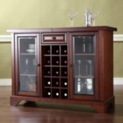 Crosley Furniture LaFayette Sliding Top Bar Cabinet