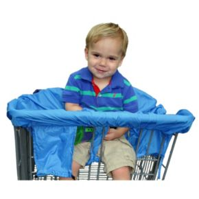 Cossettie Baby-on-the-Road Travel High Chair & Shopping Cart Cover & Changing Mat Set