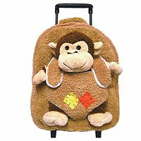 Best Buddy Plush Animal Rolling Backpack