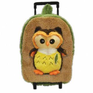Best Buddy Plush Animal Rolling Backpack