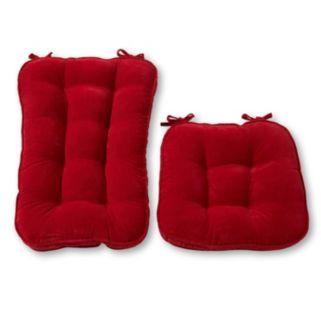 Greendale Home Fashions Jumbo Deluxe Boxed Rocker Seat Cushion