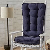 Greendale Home Fashions Jumbo Deluxe Boxed Rocker Seat Cushion