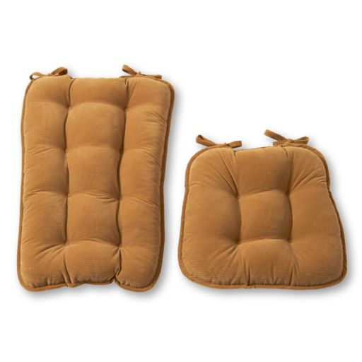 Greendale Home Fashions Jumbo Deluxe Bound Rocker Seat Cushion