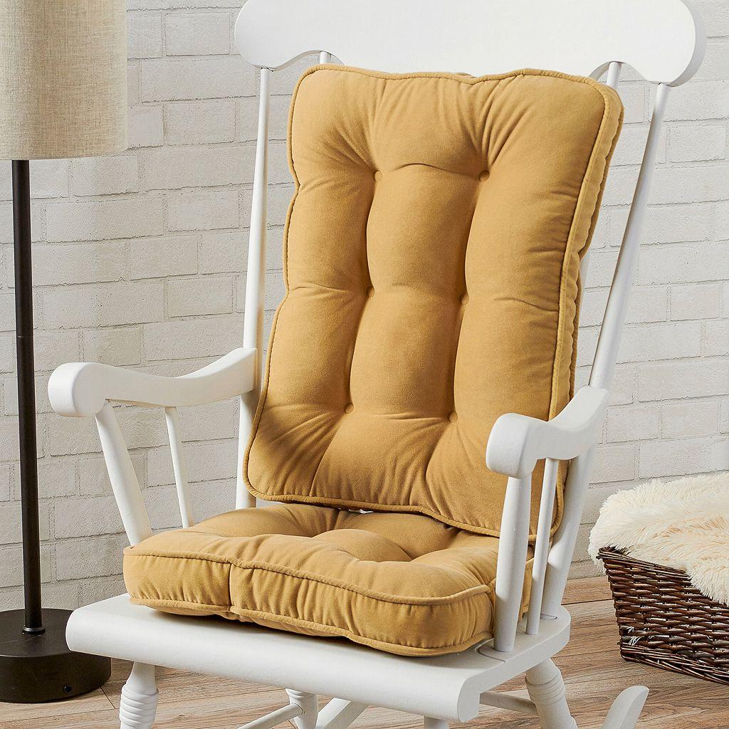 Greendale Home Fashions Boxed Rocker Seat Cushion
