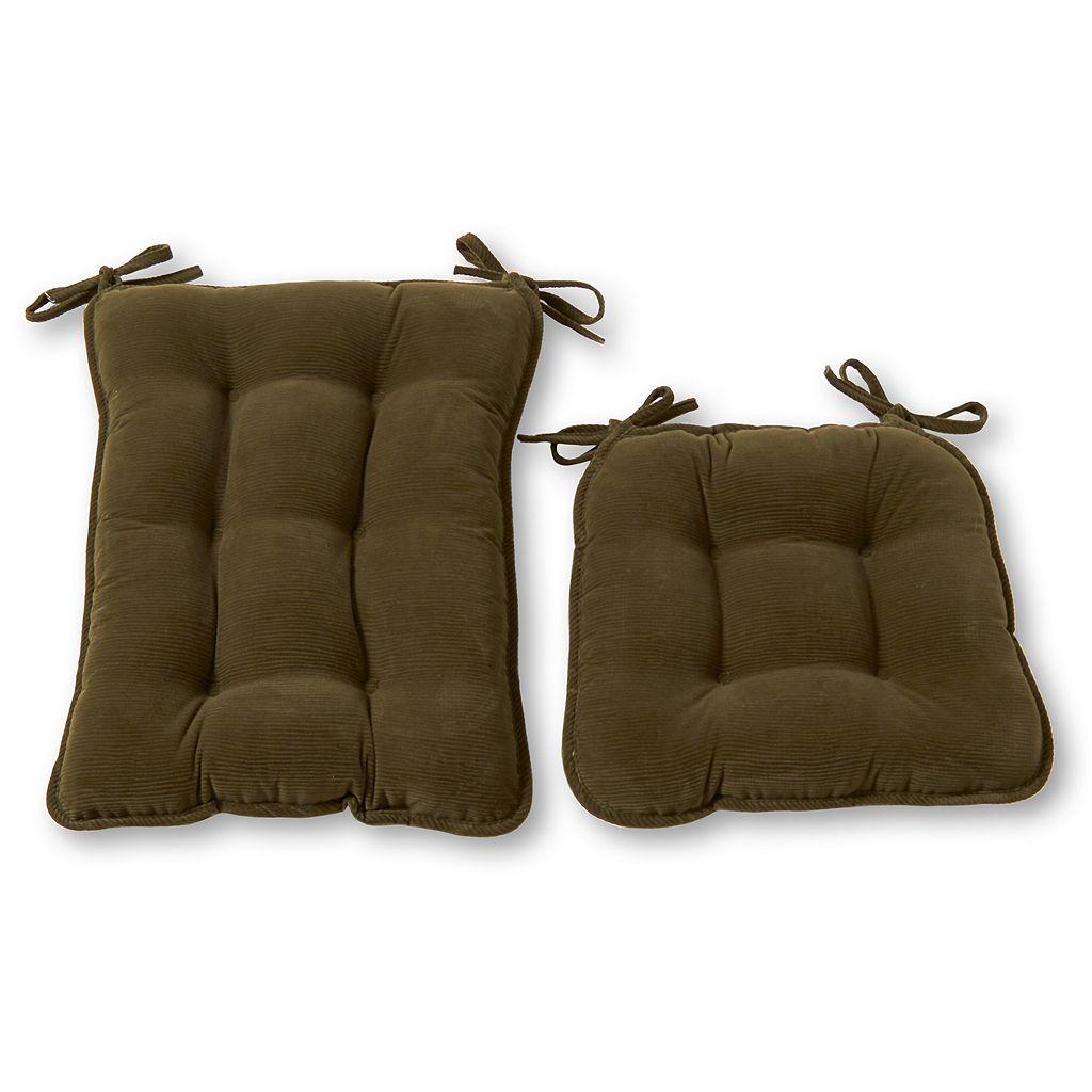 Greendale Home Fashions Bound Rocker Seat Cushion