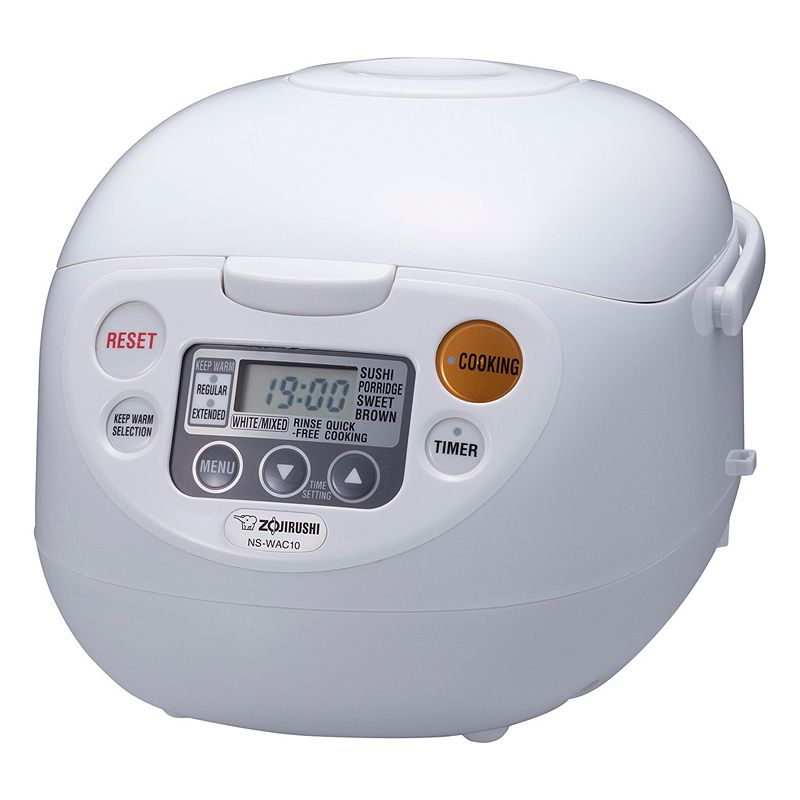 Zojirushi 5.5-cup Rice Cooker and Warmer, White