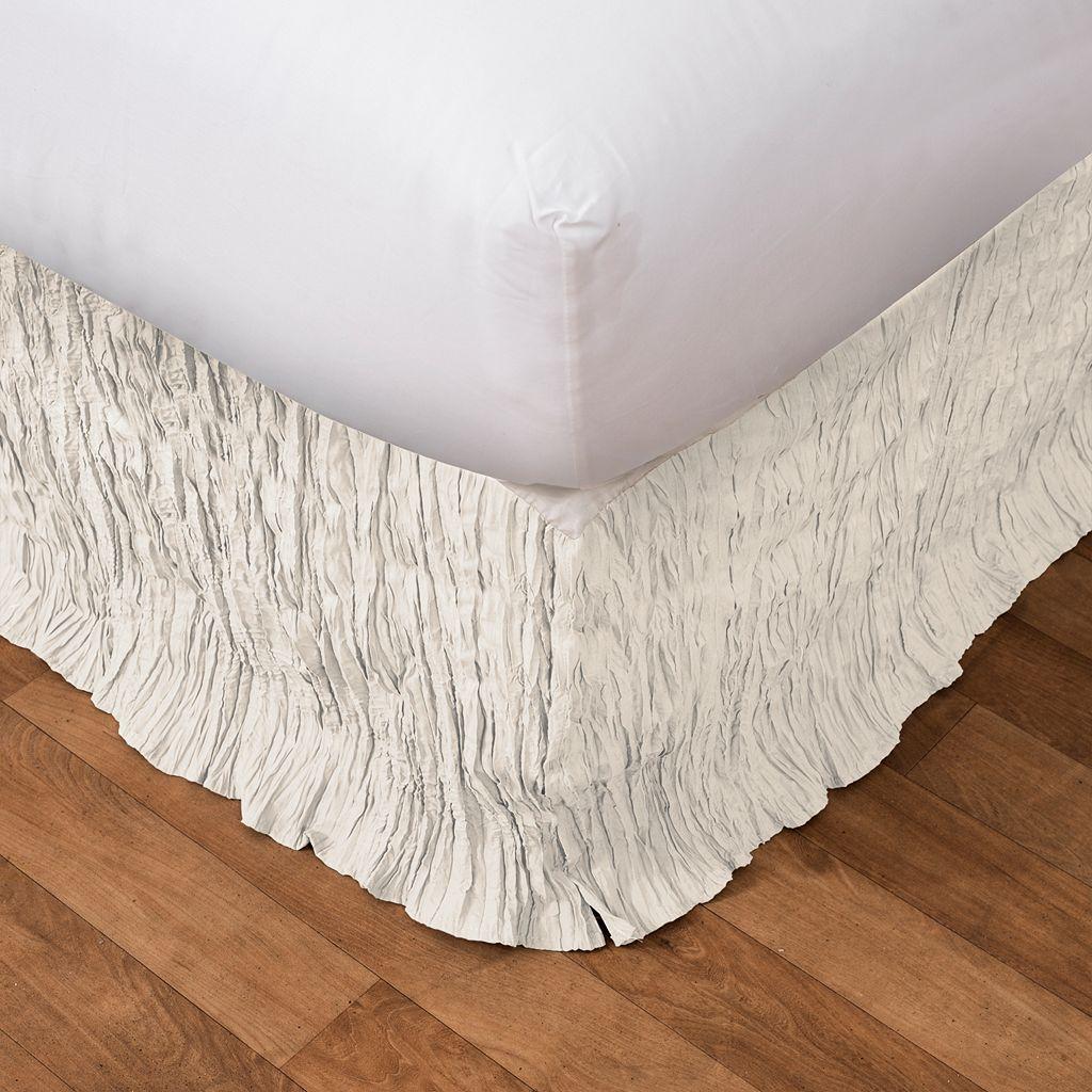 Lush Decor Crinkle Bedskirt