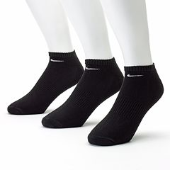 Men's Nike 3 pkNo-Show Performance Socks