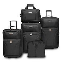 Traveler's Choice Versatile 5 pc Luggage Set