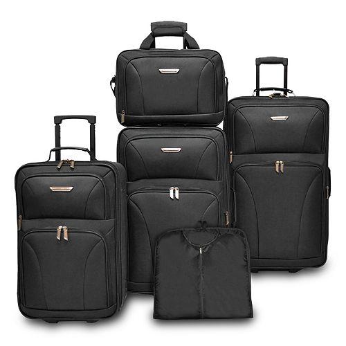 Traveler's Choice Versatile 5-Piece Luggage Set