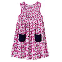 Design 365 Smocked Daisy Dress - Toddler Girl