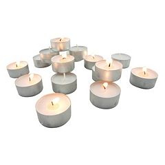 200 pc Fragrance Free Tealight Set
