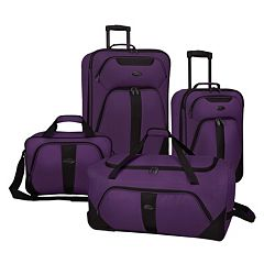 US Traveler 4 pc Luggage Set