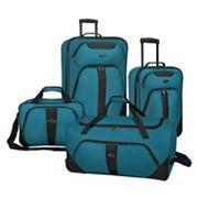 US Traveler 4 pc Luggage Set