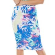 Apt. 9® Floral Midi Scuba Pencil Skirt - Women's