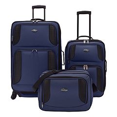 US Traveler Bridgetown 3 pc Luggage Set