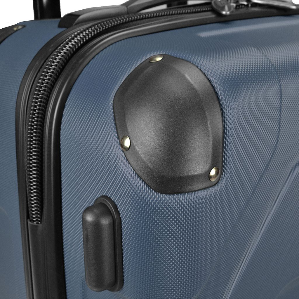 US Traveler Long Haul 24-Inch Hardside Spinner Luggage