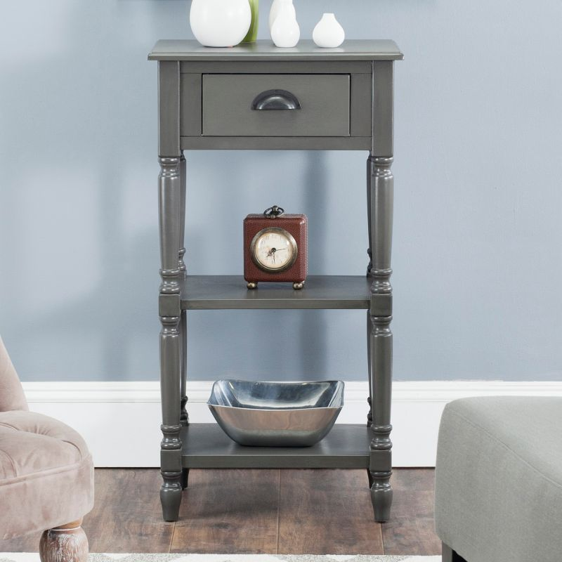 Safavieh Chucky End Table, Grey