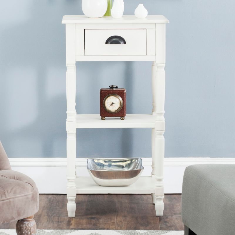 Safavieh Chucky End Table, White