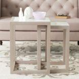Safavieh Egan  2-piece Nesting Table Set
