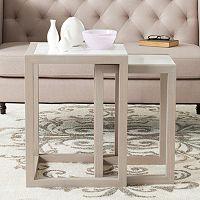 Safavieh Egan 2 pc Nesting Table Set