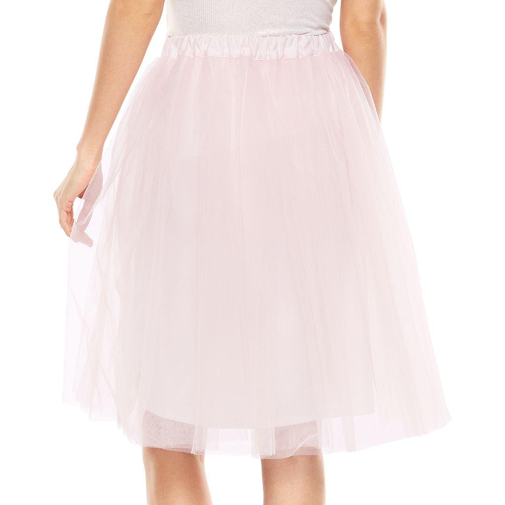 LC Lauren Conrad Cinderella Tulle Skirt Disney   Lc lauren