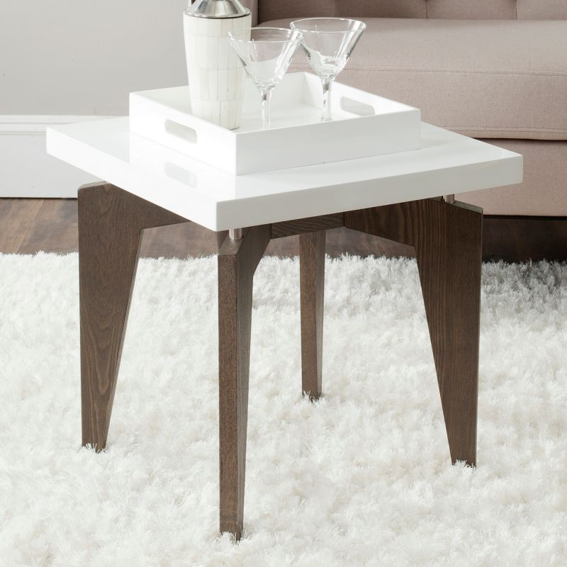 Safavieh Josef End Table, Dark Brown