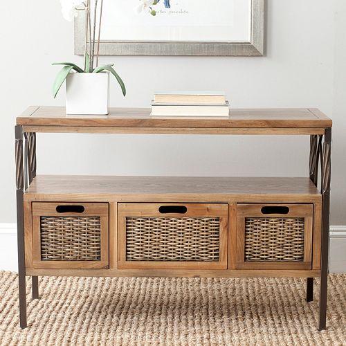 Astonishing Safavieh Joshua Console Table Ibusinesslaw Wood Chair Design Ideas Ibusinesslaworg