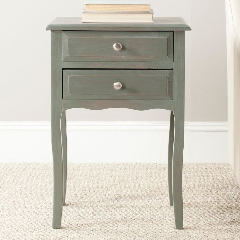 Safavieh Lori End Table, Grey