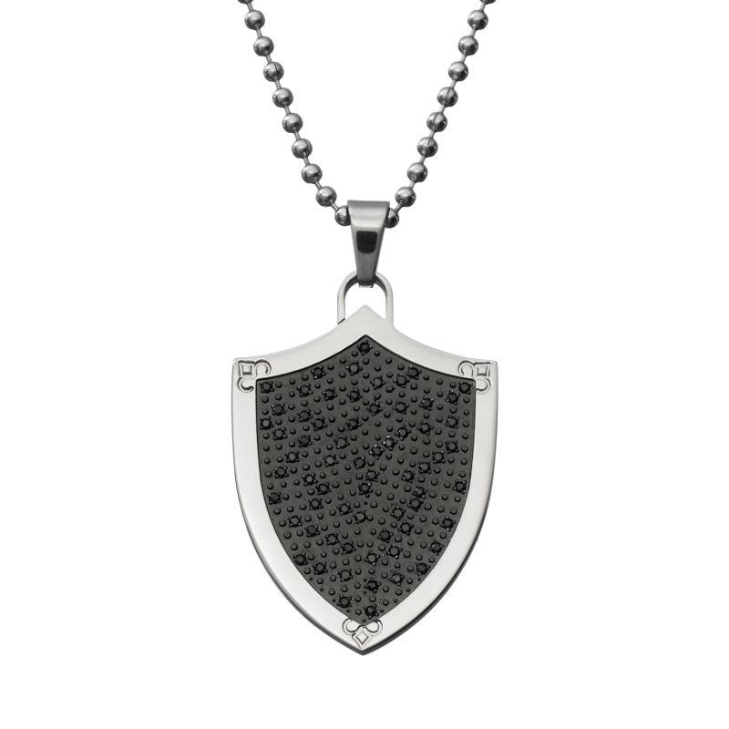 Mens Black Diamond Jewelry