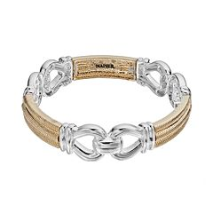 Napier Chain Link Stretch Bracelet