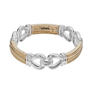 Napier Chain Link Stretch Bracelet