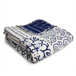 Lush Decor Monique Reversible Quilted Throw
