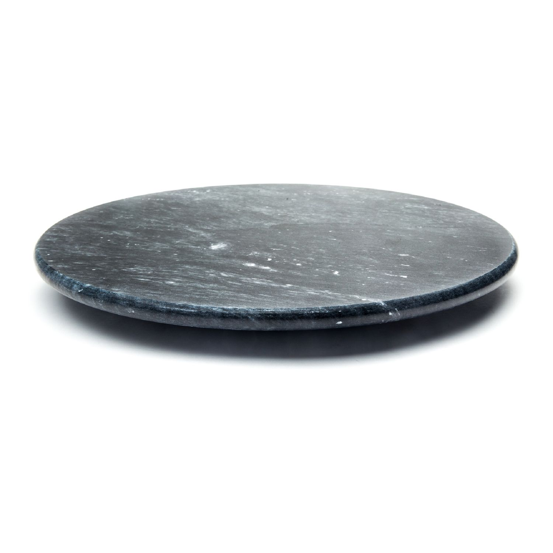 black marble lazy susan