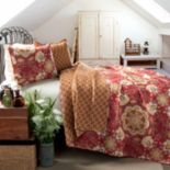 Lush Decor Addington 3 pc Reversible Quilt Set