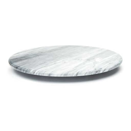 Fox Run White Marble 12-in. Lazy Susan