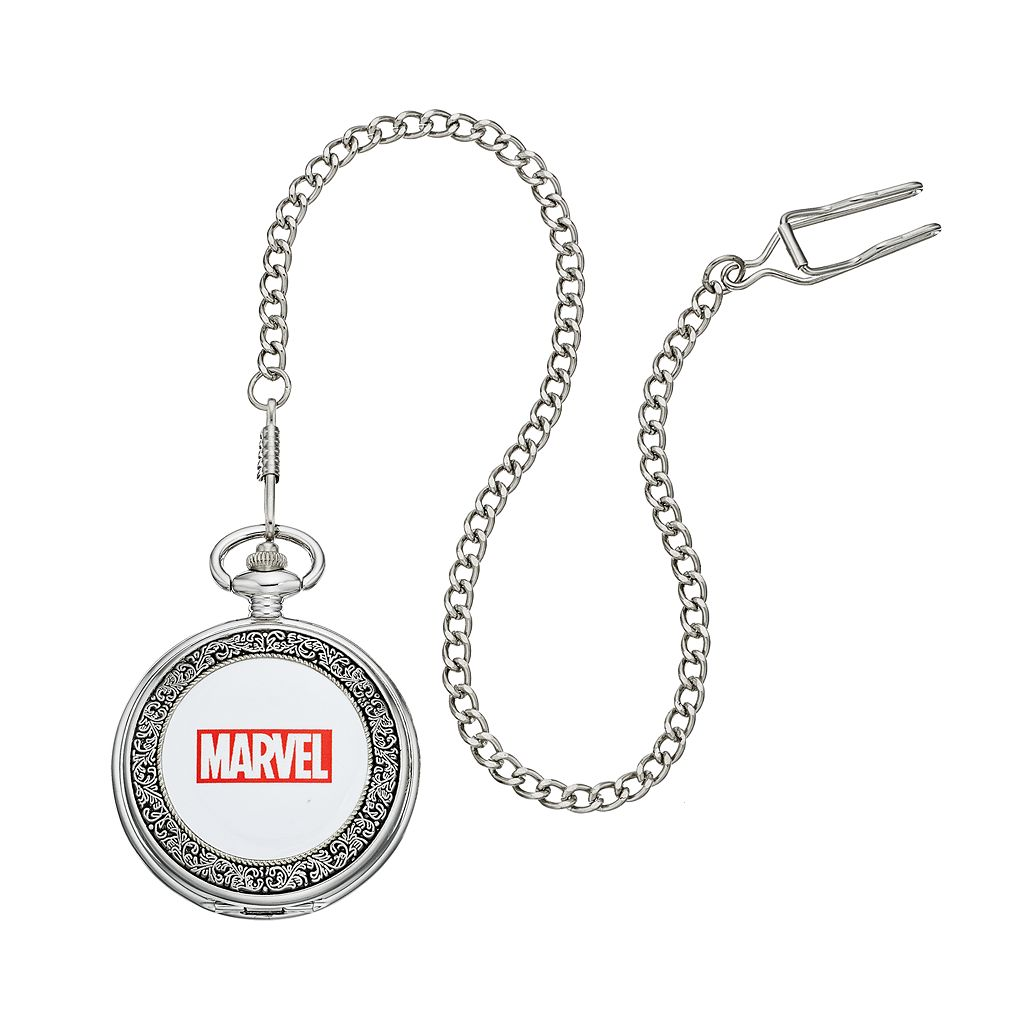 Captain America Men's Pocket Watch