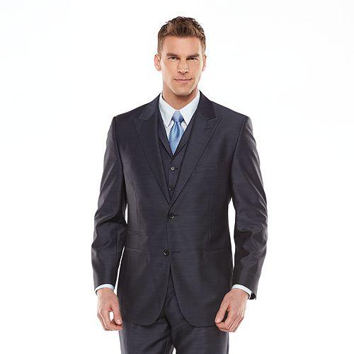 Steve Harvey Mens Tailored Fit Sportcoat Blazer