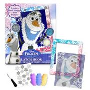 Disney's Frozen Olaf Latch Hook Activity