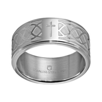 Stainless Steel Infinity Band - Men