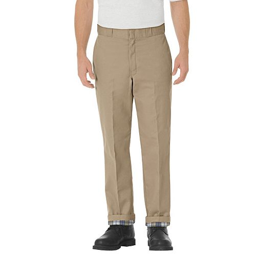 a78e3ba1 Men's Dickies Relaxed-Fit Flannel-Lined Pants