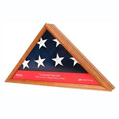 Ceremonial Flag Display Case