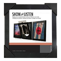 Show & Listen 12.5'' x 12.5'' Record Frame