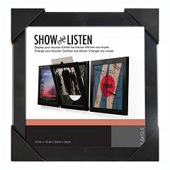Show & Listen 12.5'' x 12.5'' Record Frame