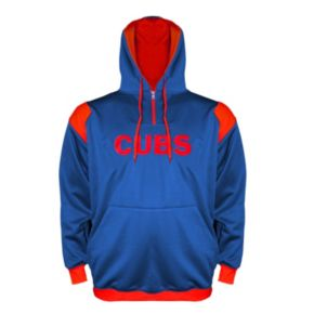 Big & Tall Chicago Cubs Quarter-Zip Hoodie