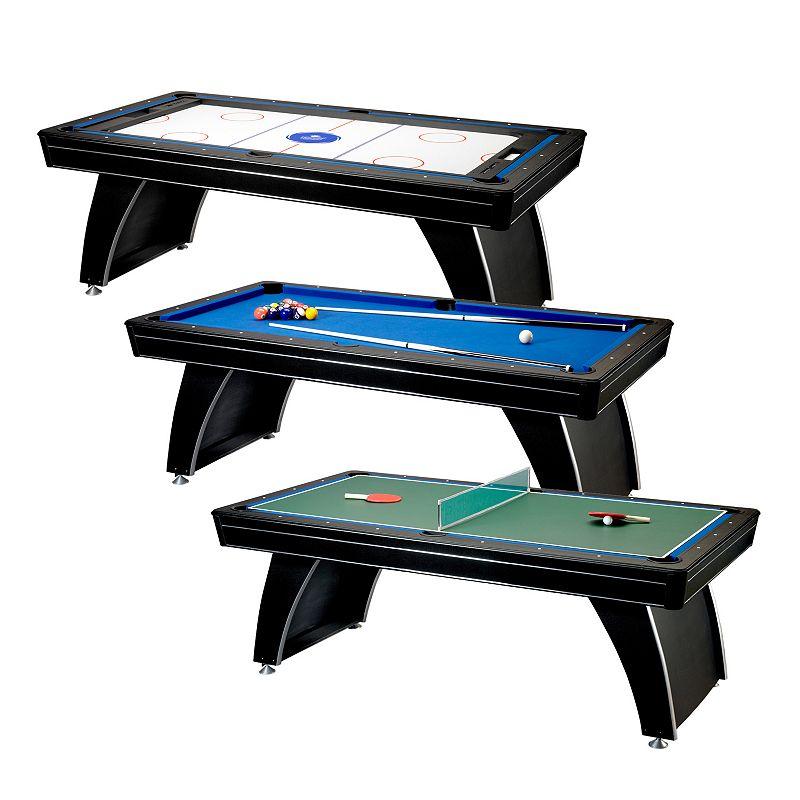 Fat Cat Phoenix Mmxi 7-ft. 3-in-1 Billiard Table & Play Accessories ()