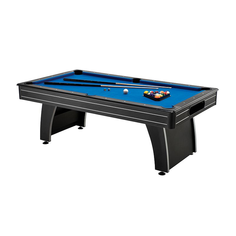 Fat Cat Tucson Mmxi 7-ft. Billiard Table with Ball Return & Play Accessories, Blue/Black